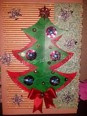Рождестволық картаны қалай жасауға болады