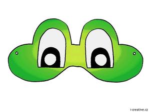 Маска Frog карнавал