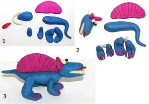 Динозавр қалай жасауға болады