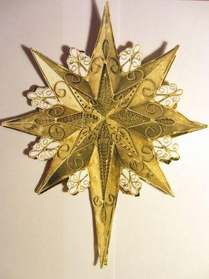 Вифлеемская звезда своими руками
