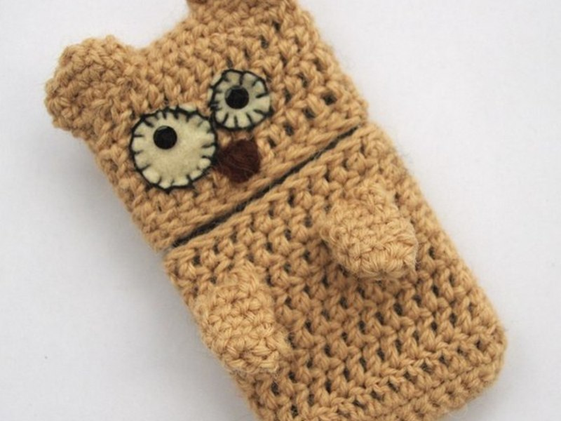 Картинки вязаного чехла для телефона