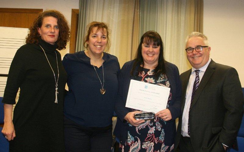 County Award for Team Hendra Member