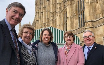 Westminster Visit for Hendra Staff