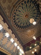 Intricate details, ceiling of City Center