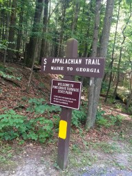 The A.T. in Pine Grove Furnace State Park, PA