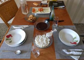 Yummy arroz, frijoles, y pollo