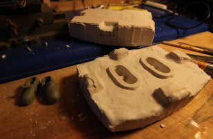 DISAPPEAR shoe mold