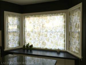 FLAT ROMAN SHADES- CLOSED