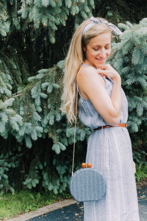 Momming in a Midi Dress