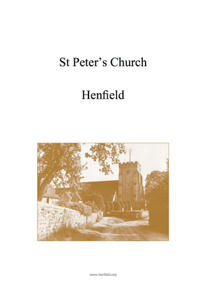 Henfield Church History 1987
