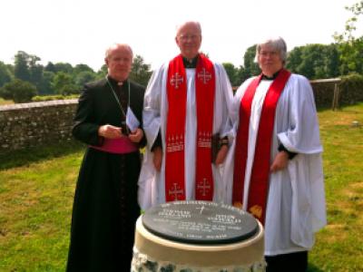 Bishop Kieran Conry, Dean Nicholas Frayling, Rev'd Christina Bennett