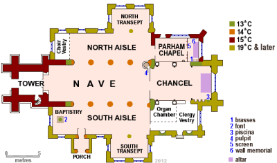 Plan of St. Peter's, Henfield