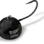 black cat fire ball zwart