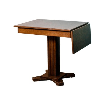 26x32-full-storage-dinette-table-with-11_-leaf-and-4-flute-pedestal
