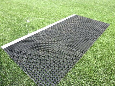 henko brush synthetic turf grass maintenance cleaning
