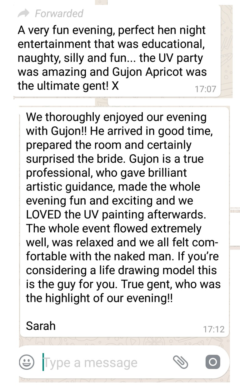 Reviews from Kensington Hen Party