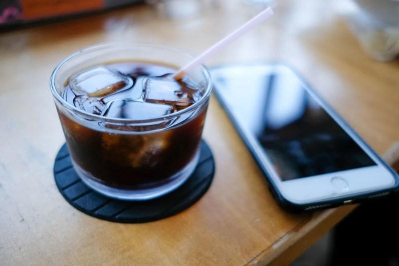 ブブカーネランチのハーフサイズコーヒー
