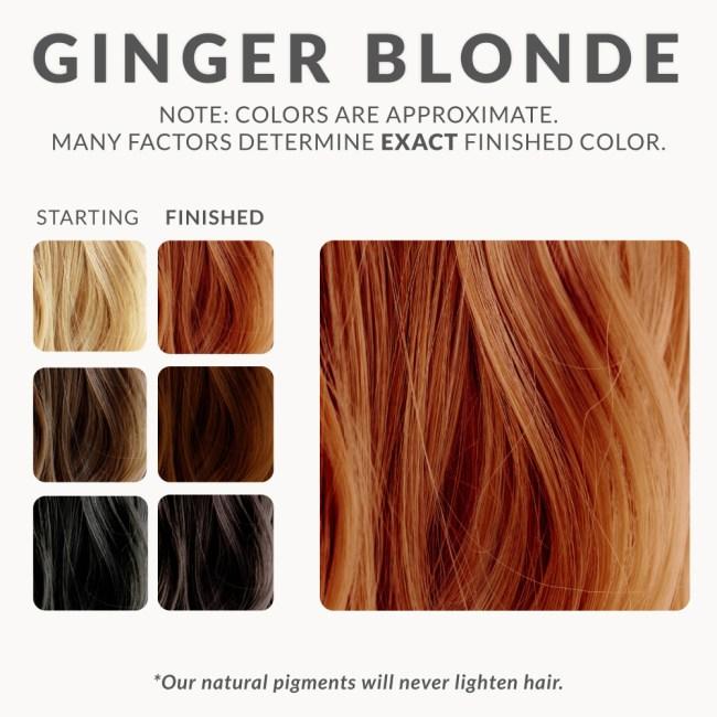 Ginger Blonde Henna Hair Color
