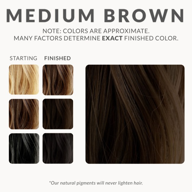 Mahogany Henna Hair Dye Colors