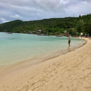 Upea ranta Phi Phi-saarella