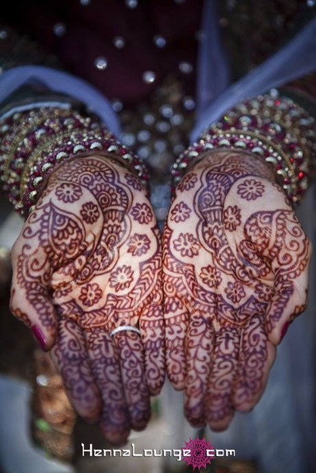 Indian henna with Christian elements