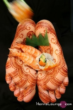 Unconventionally seductive henna