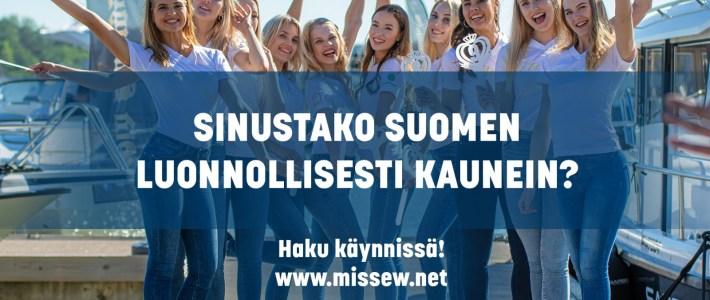 Sinustako Suomen luonnollisesti kaunein?