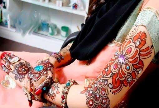 Colores en los Tatuajes de Henna