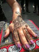 """Henna pattern inspired from """"Flowers of Marakkesh"""" by Nic Tharpa Cartier Henna artistry Kristy McCurry"""