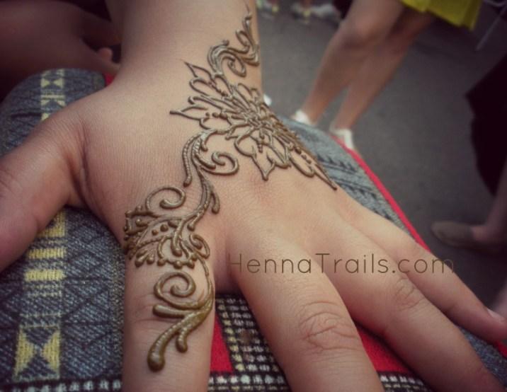 "Henna design inspired by Akiyo Ogura's henna pattern book, ""Lavender"" Henna artistry Kristy McCurry Chico,California"