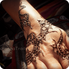 "Henna pattern inspired form ""Arabian Peninsula"" by Liz Ging henna artistry Kristy McCurry"