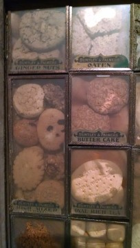 Burch Pharmacy cookie display