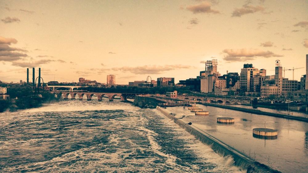 St. Anthony Falls, Minneapolis, Minnesota