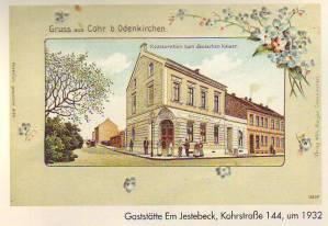 Kohrstrasse Geistenbeck 1932