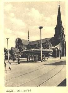 Marienplatz mit Marienkirche