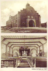 Kirche St. Paul Mülfort 1927