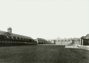Innenhof Polizeikaserne 1942