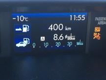 outdoor temperature