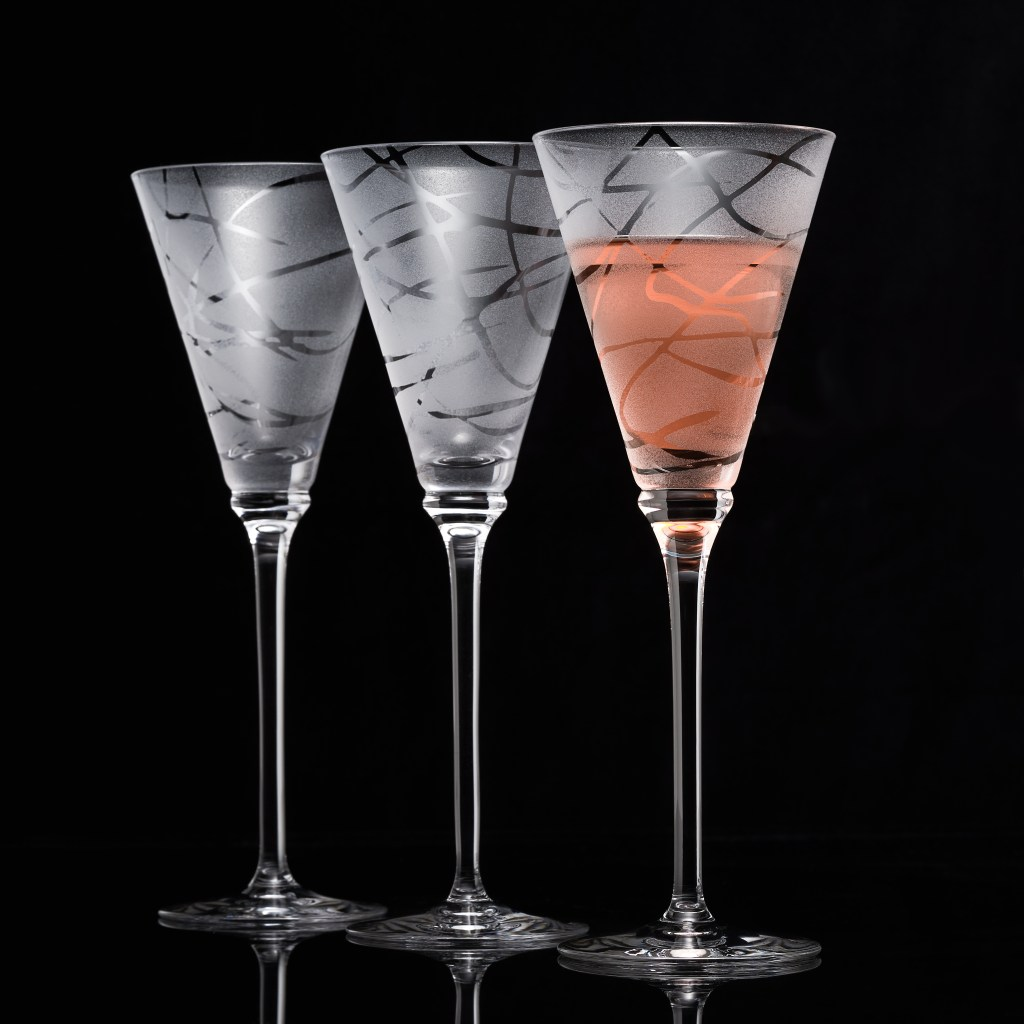 Glassware photography