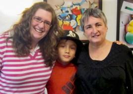With Susan Rancer, RMT - Piedmont, California, April 2013