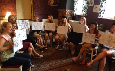 Life Drawing Hen Party Entertainment! August 2015