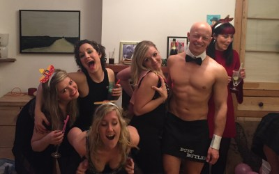 Buff Butler in Bristol for Hen Party