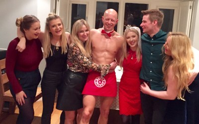 Hen Party Butler in the Buff in Bath