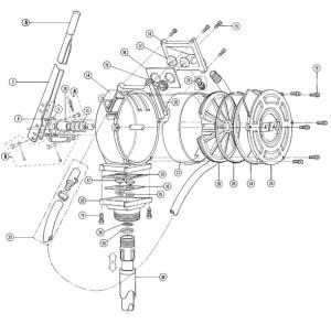 GPI HP100UL DualFlo Hand Pump (50 Gal100 Strokes