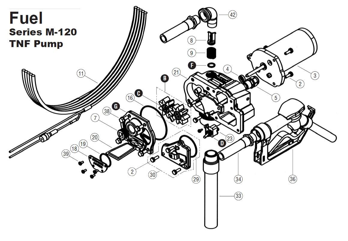 Gpi 02 12 Volt Switch Kit For M 120 Tnf Pump