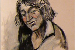 Portrait by Mary Frank