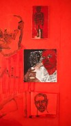 We Are Real - Red Installation: Mass Incarceration