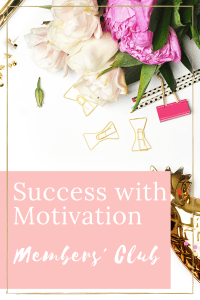 flowers with clips success with motivation members club