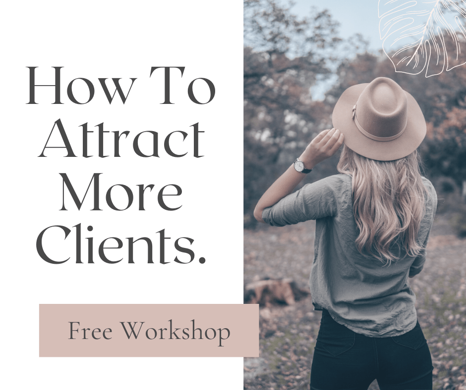 how to attract more clients - free workshop