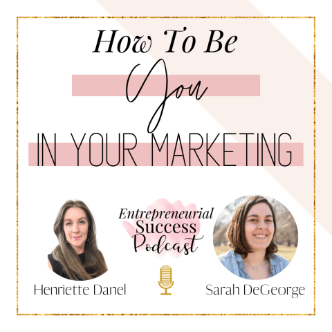 how to be you in your marketing